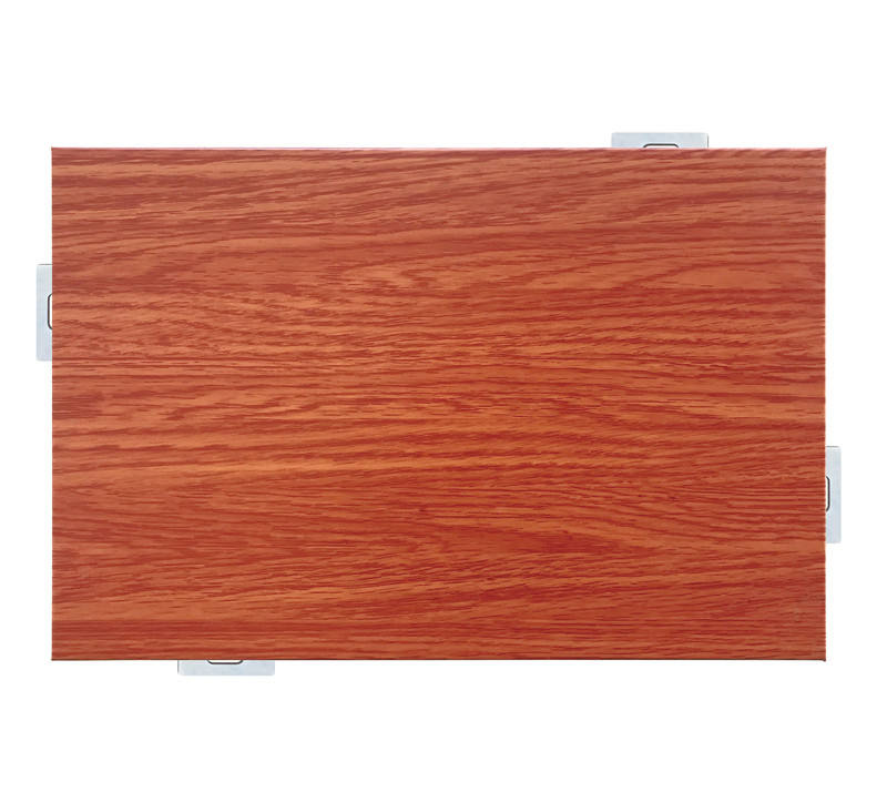 Wood Color Solid Aluminum Panel