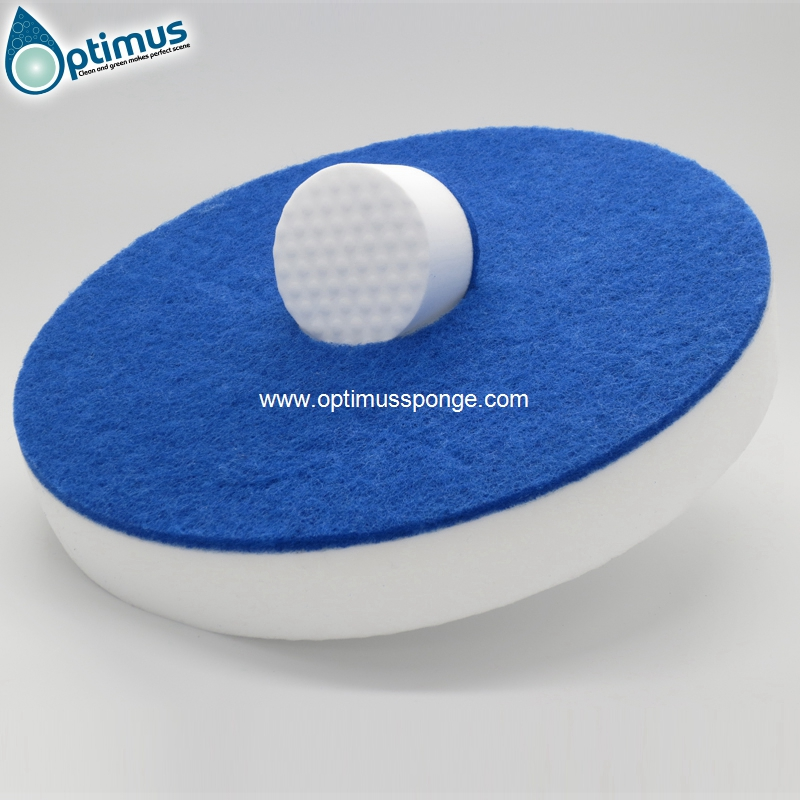 magic nano cleaning melamine sponge eraser with PU sponge factory sell