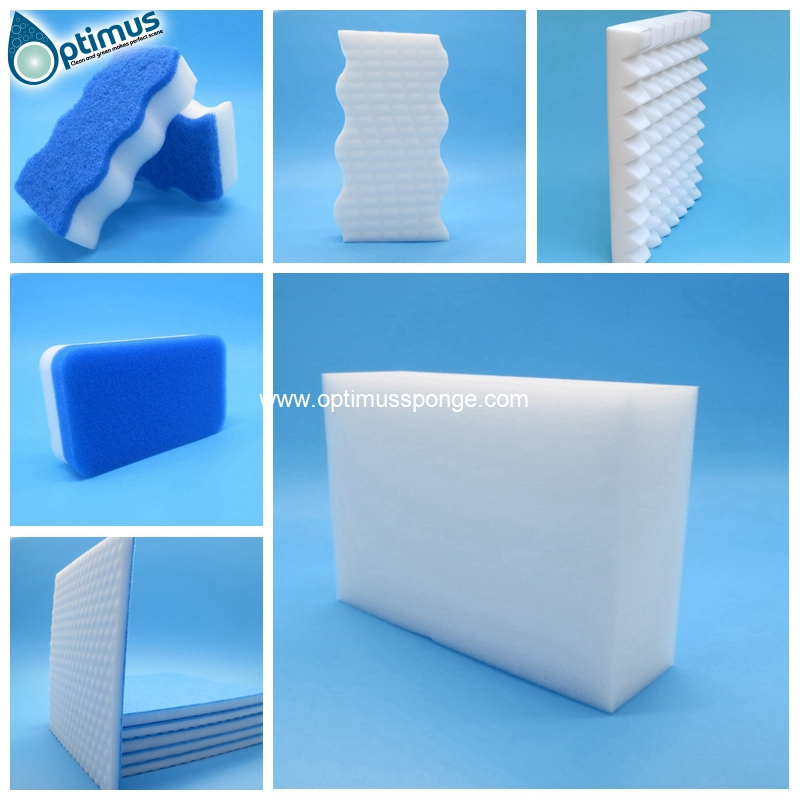 King size white maigc sponge eraser pad from Japan