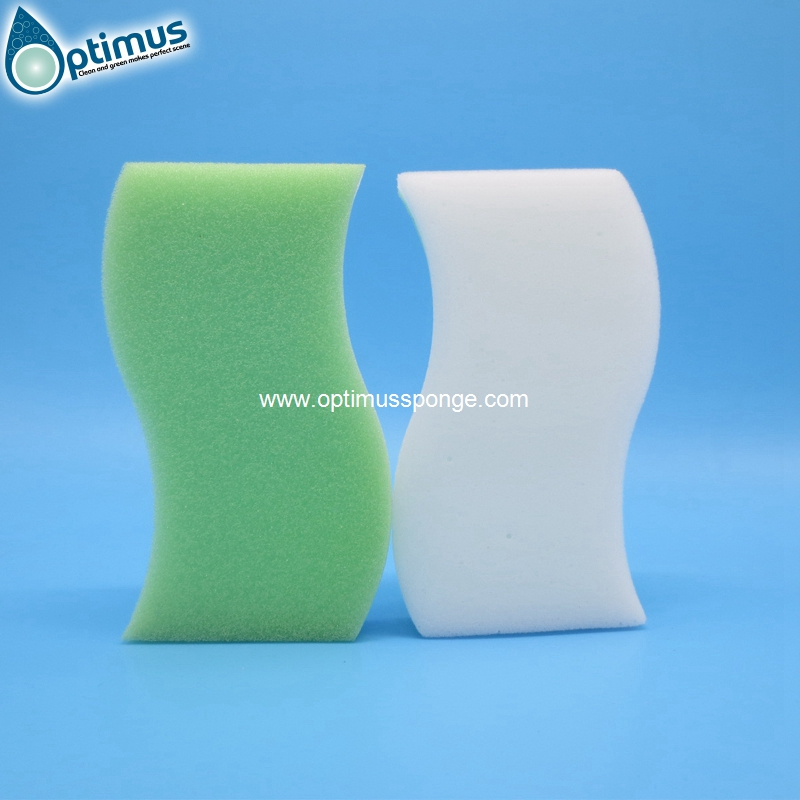 High density melamine sponge magic kitchen cleaning sponge