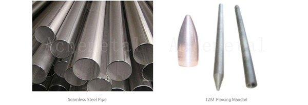 high-temperature strength creep resistance Molybdenum Piercing Mandrel