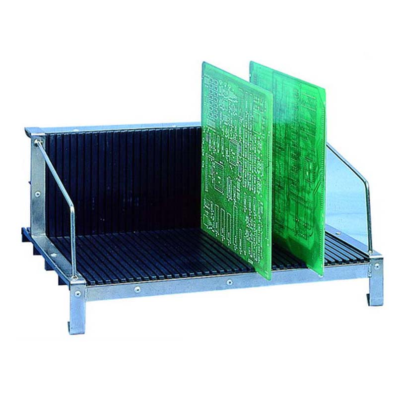 Black Conductive Plastic ESD Universal Rack SMT PCB Rack Guides Anti Static PCB Storage Holder Printed Circuit Board Rack