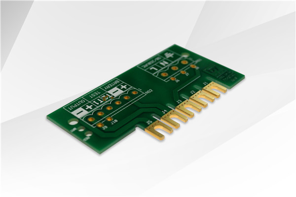 Rigid embedded  2L/1.6mm PCB Manufacturing in security electronics