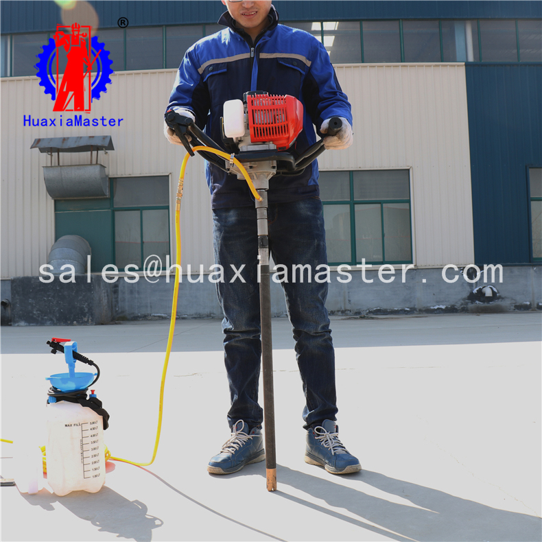 4.Backpack portable diamond core drill rig / rock drill for Geological exploration