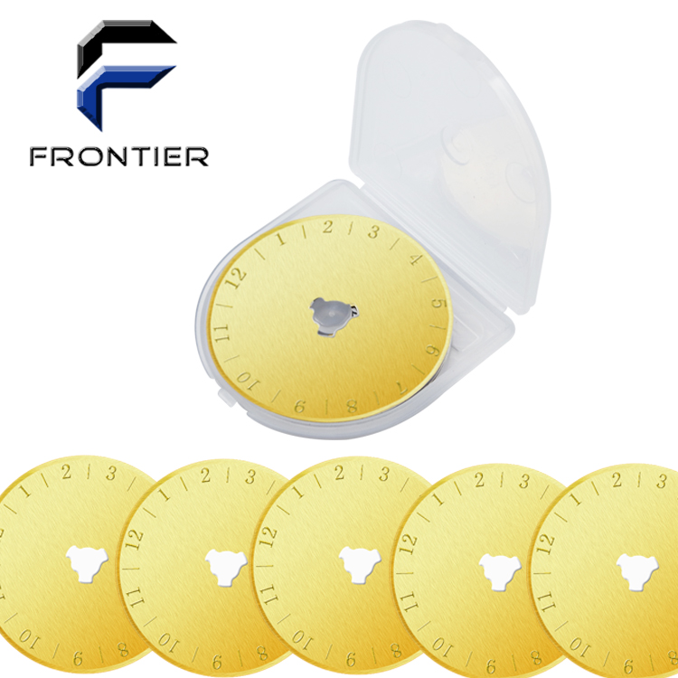 TITANIUM COATING 45MM SKS-7 ROTARY CUTTER BLADES