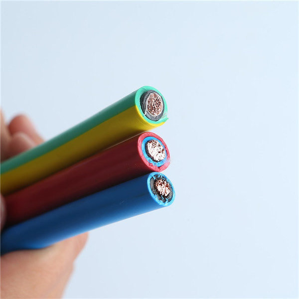 Black 2.5mm single core XLPE  high quality solar pv cable