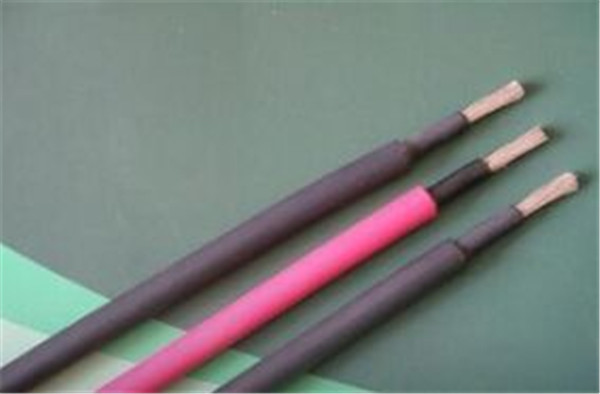 Red single core fireproof  European Standard solar pv cable