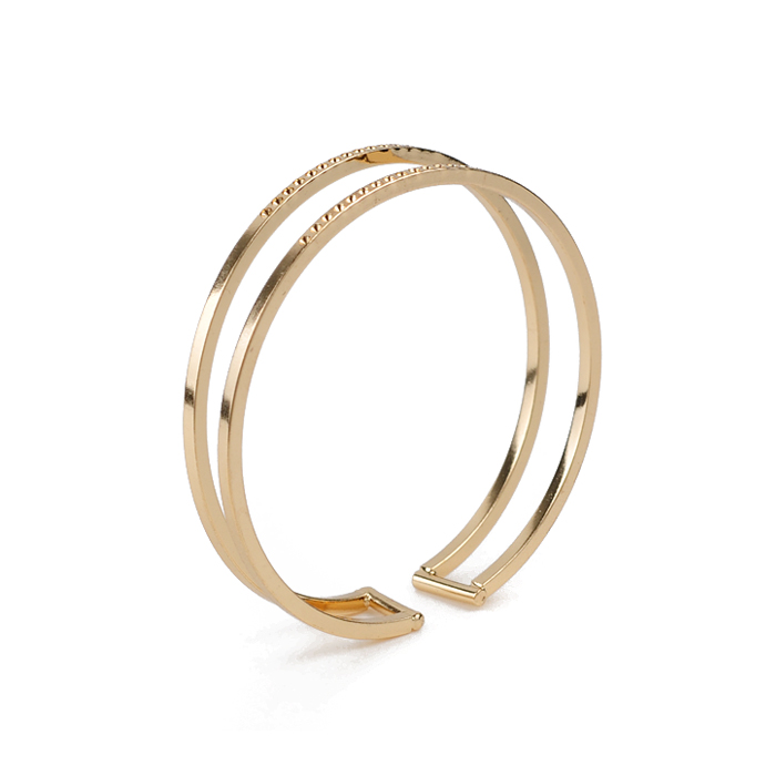 Bangle Cuff HC06-12236  Gold-plated bangles,Metal alloy bangles,Stainless steel bangles