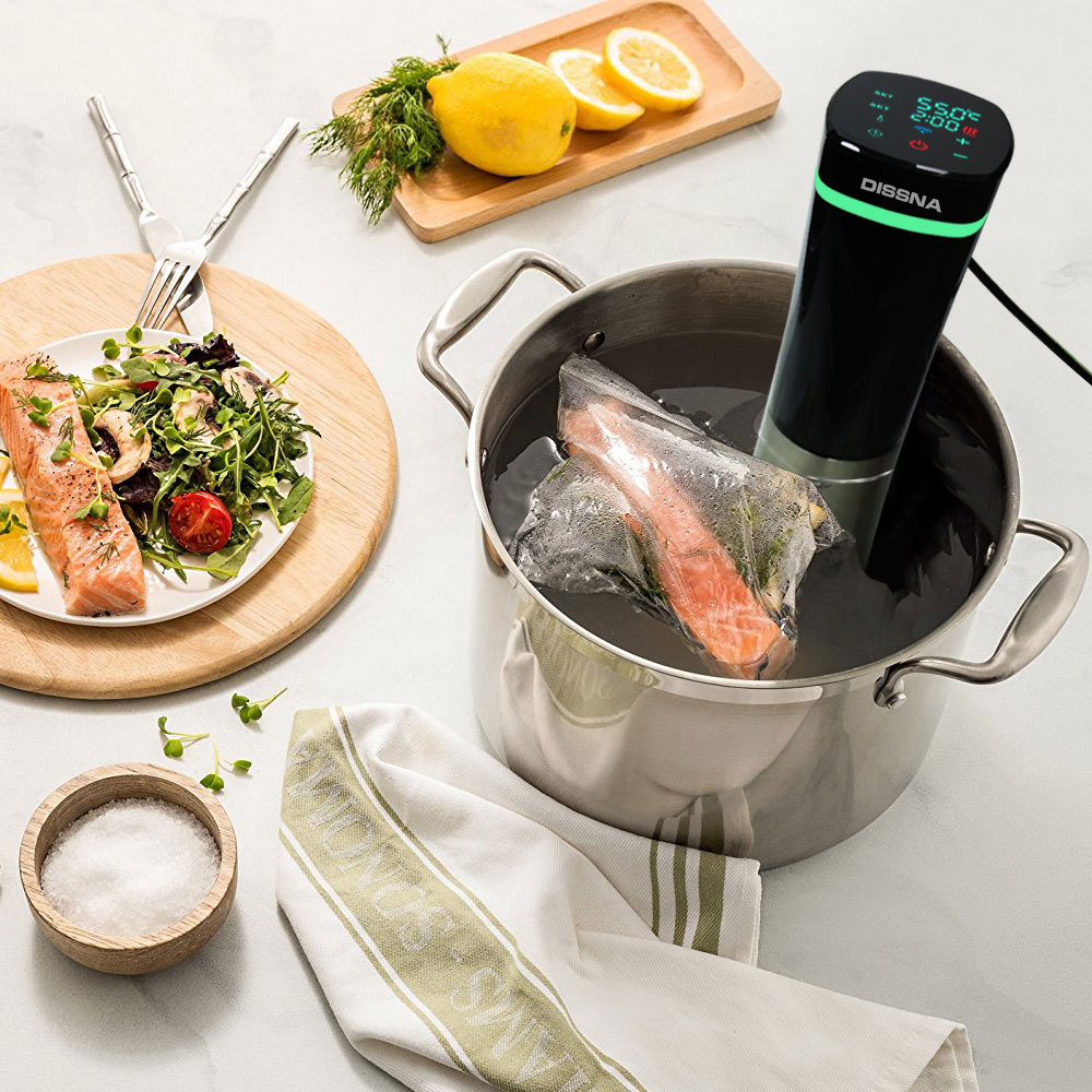 OEM Precise Sous Vide Slow Cooker With Digital Display Immersion Circulator Sous Vide Machine
