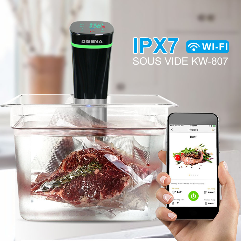 High Quality Slow Cooker Wholesale Sous Vide Immersion Circulator With PTC Heating Element