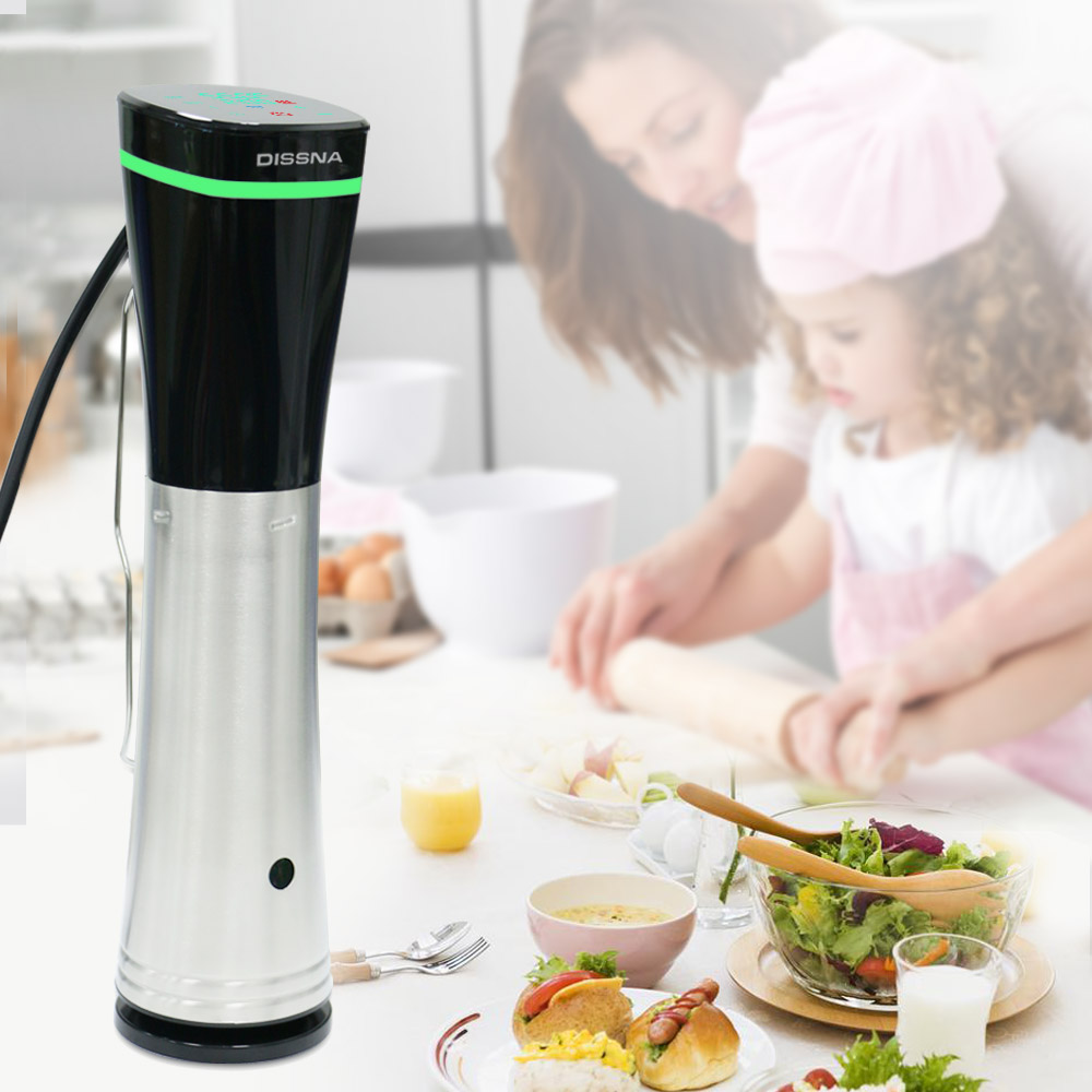 Sous Vide Vacuum Sealer Bluetooth WIFI Immersion Slow Circulator Sous Vide Machine Precise Cooker