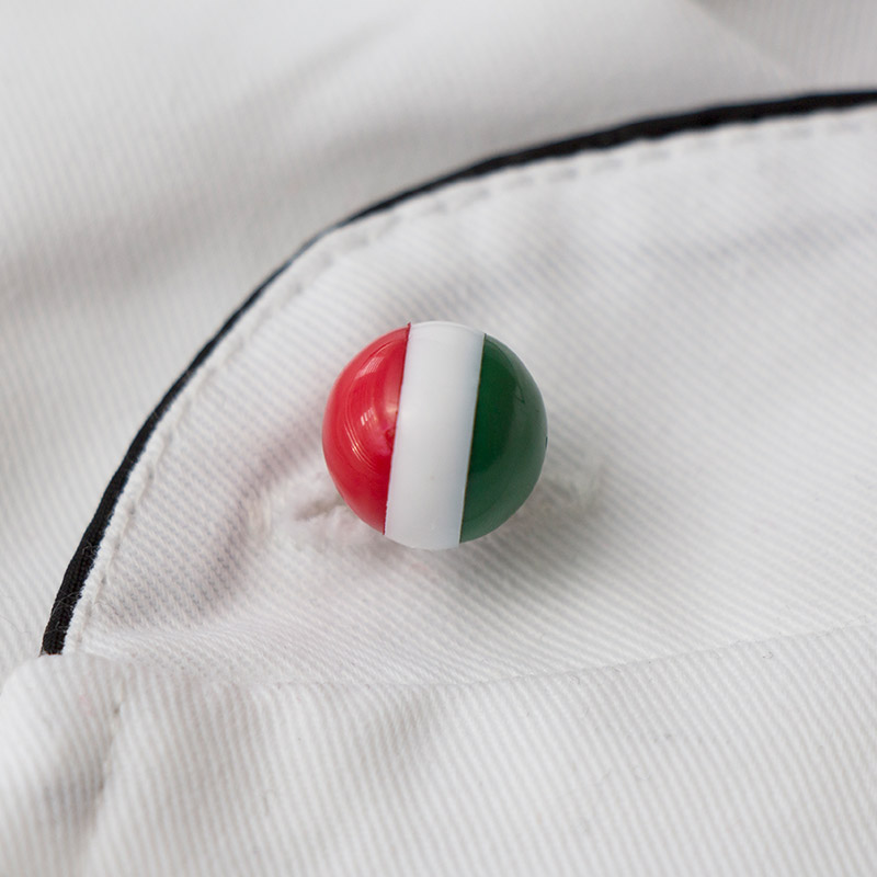 Tricolor Chef Buttons,China Tricolor Chef Buttons, Tricolor Round Buttons,Chef stud buttons