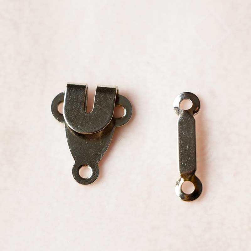 Two Part Trousers Hook and Bar 03,Pant hook and bar,Garment accessories hooks and bars,TROUSERS HOOK AND BAR