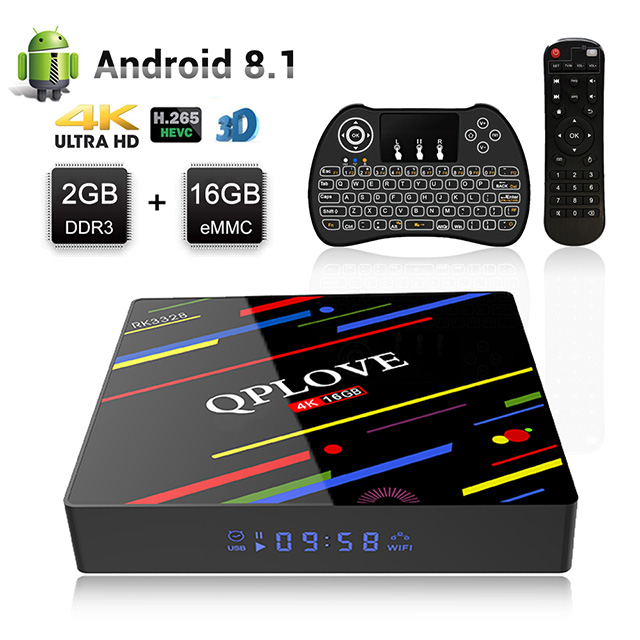 H96 MAX Plus Android 8.1 Tv Box RAM 2 GB + 16 GB