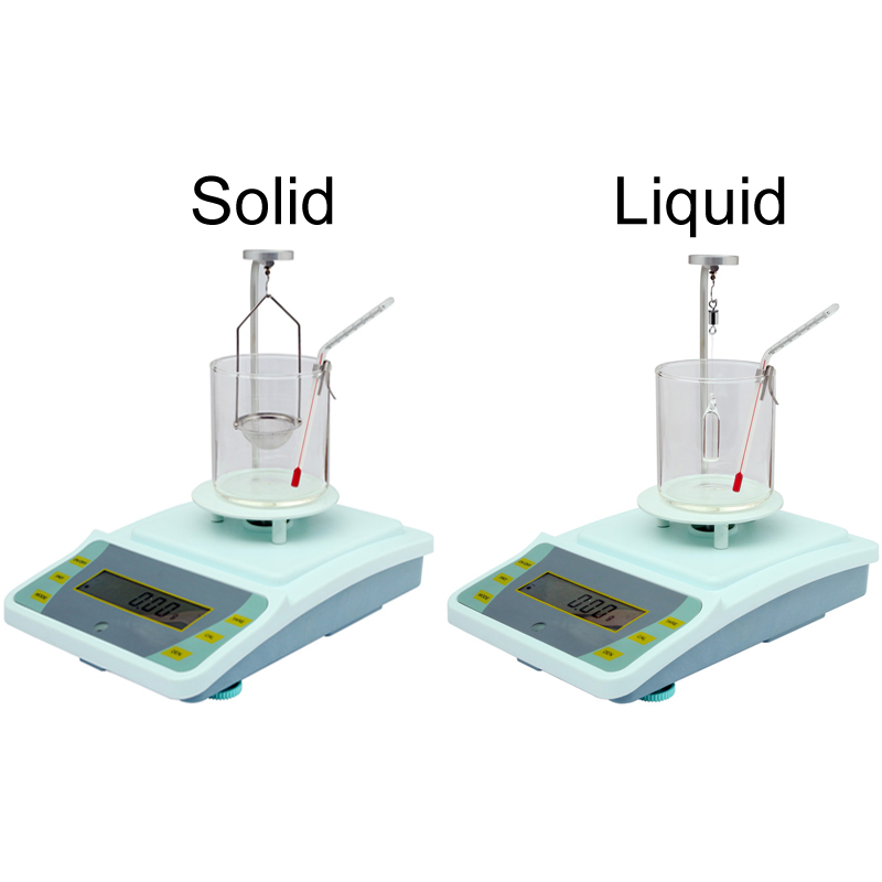 0.01g lab scale hydrostatical density balance