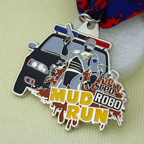 Running Medals | Mud Run Customized Medals