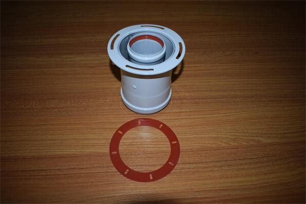 coaxial adaptor for boiler 60/100mm. 90 degree