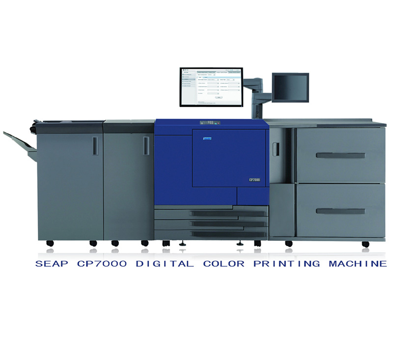 Cmyk Digital Color Printing Machine SEAP CP7000, offset printing machine, waterproof color thermal label printer, Sticker Printing Machine, Cmyk Digital Color Printing Machine, color offset printing m