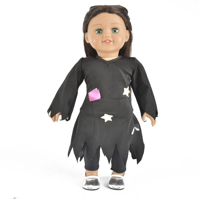 2019 Factory Hot Sale 18 inch doll clothes Easter costume for American gril dol