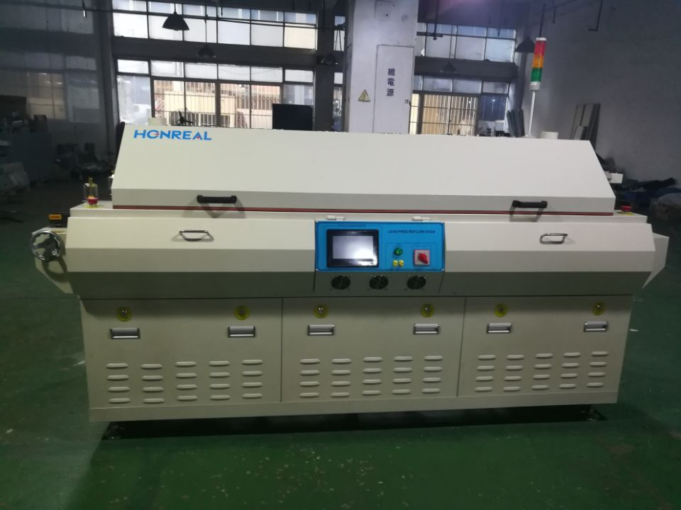 Factory Price SMT vacuum Lead Free Hot Air Reflow oven for smt assembly line