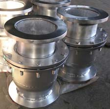 Sleeve type expansion joint