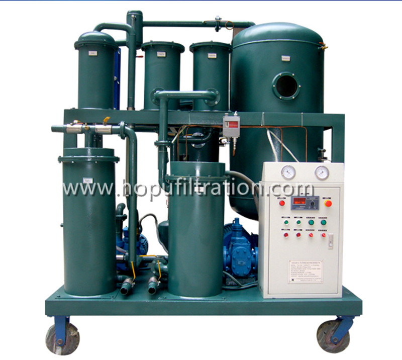 Vacuum Lubricant Oil Filtration Machine for Series TYA  Vacuum Lubricant Oil Purifier