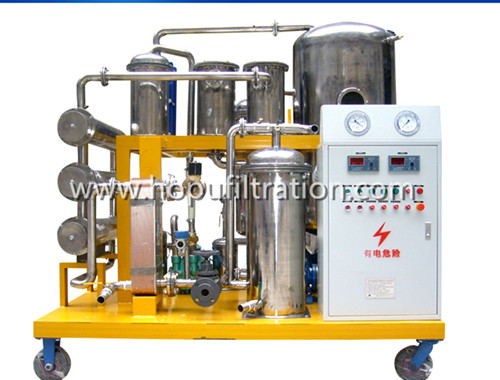 Vacuum Hydraulic Oil Filtration Machine for Series TYH