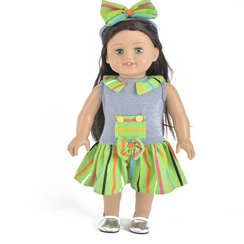 2019 Everyest New Design 18 inch doll clothes for American gril doll