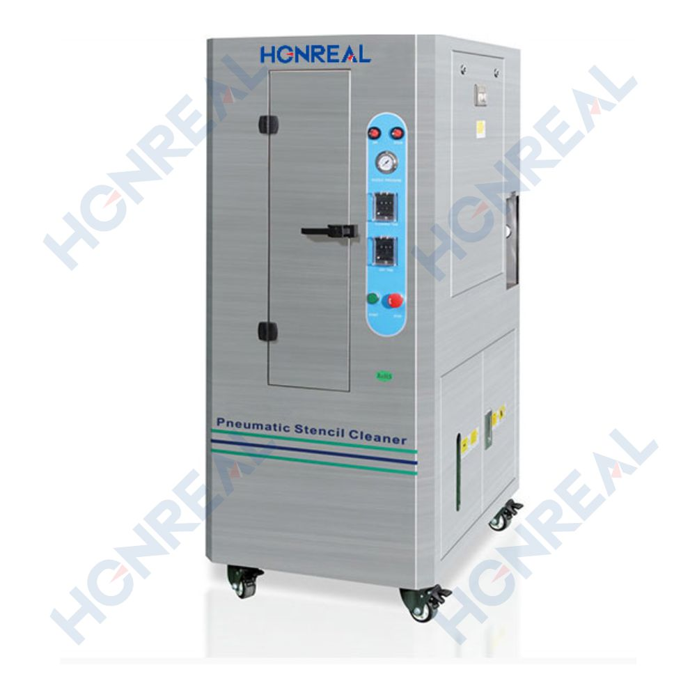 SMT PCB Pneumatic Stencil Cleaner Cleaning Machine