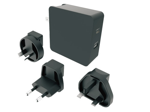high quality best price 72W 60W USB-C PD 12W USB-A Wall Charger