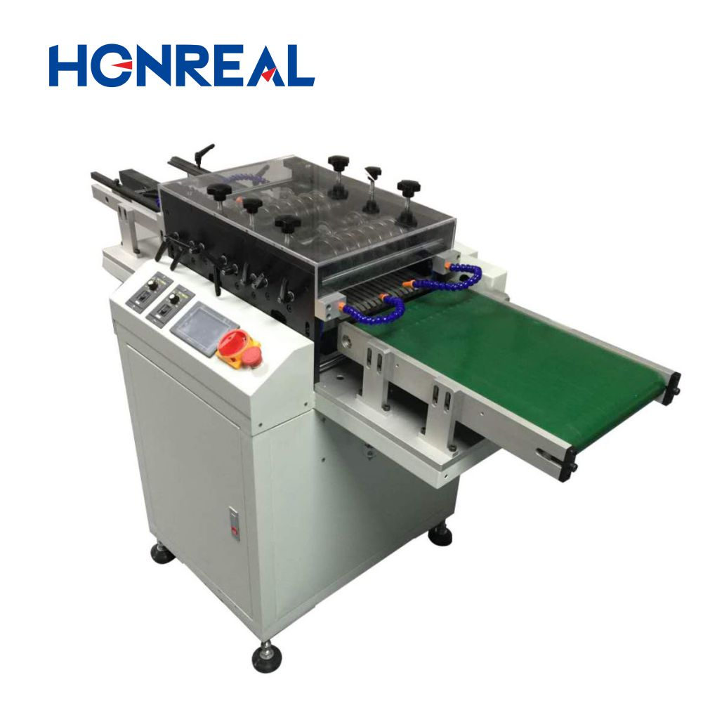 SMT machine PCB Depanelizer multi blade cutting machine printed circuit board cutting machine