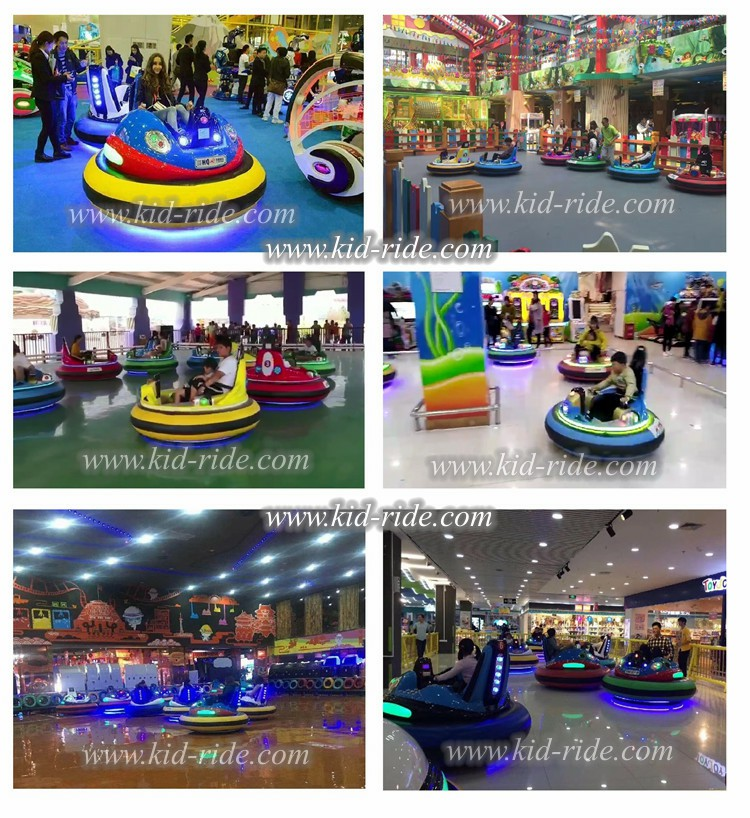 Inflatable electric bumper car