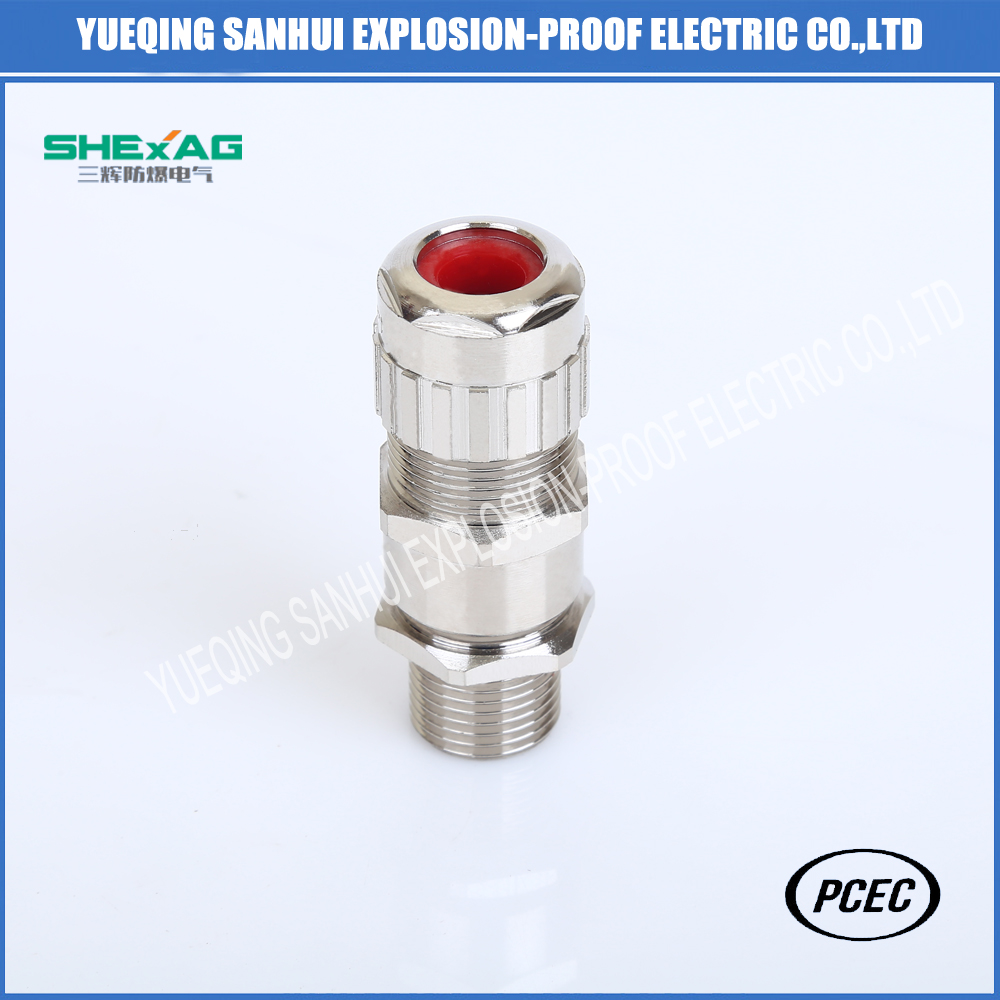 Manufacturer  quick installation brass  cable gland