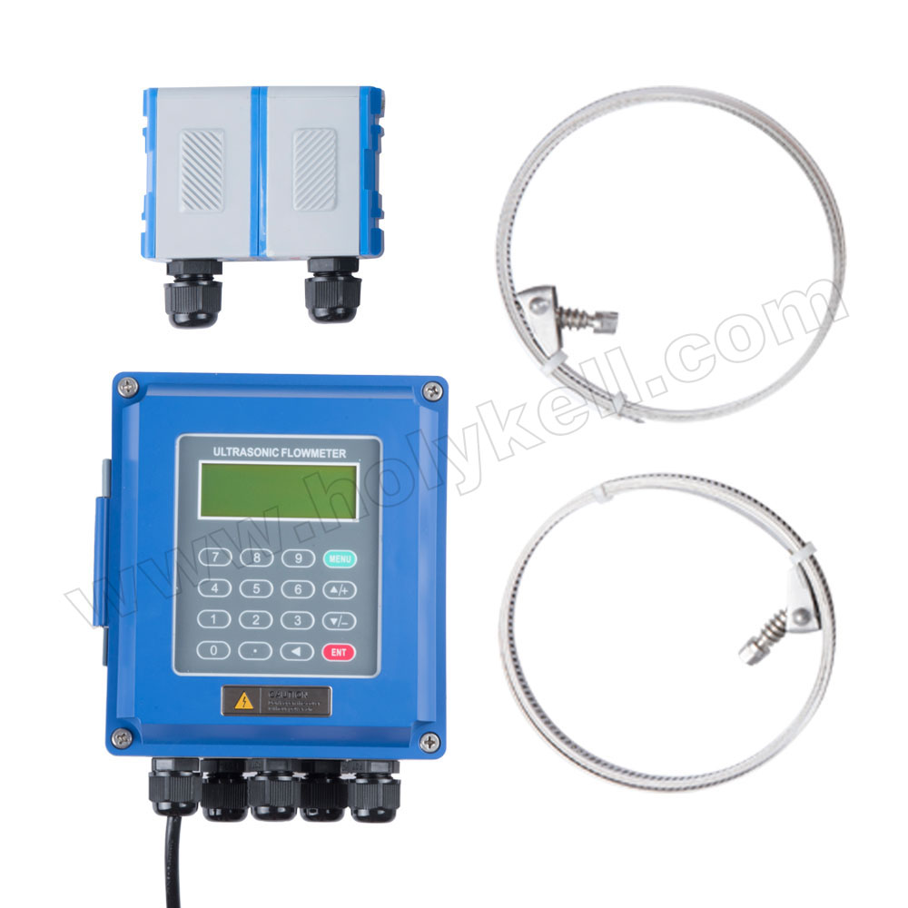 Holykell 15Mm-6000Mm China Portable Ultrasonic Water Flow Meter