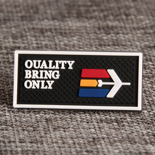 Quality Bring Only PVC Patches