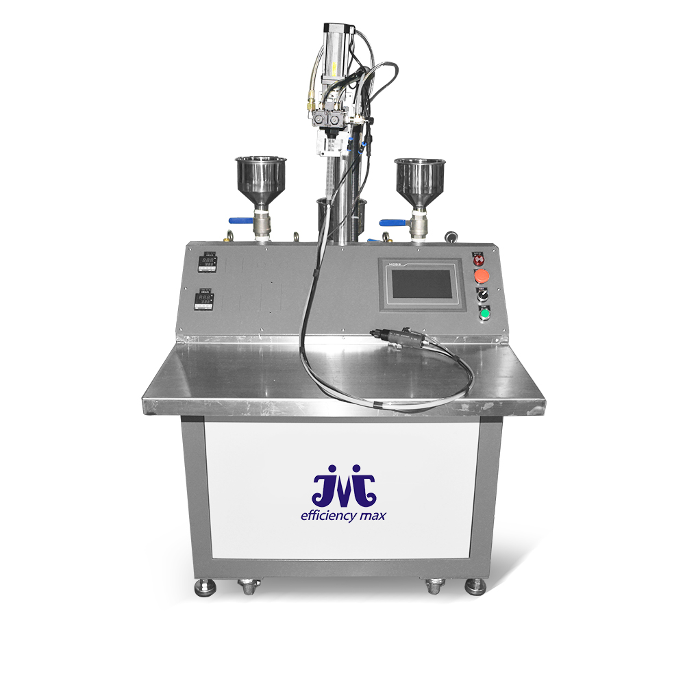 Yiermai Semi-Automatic Easy Handle High Accurate Glue Mixing Machine System