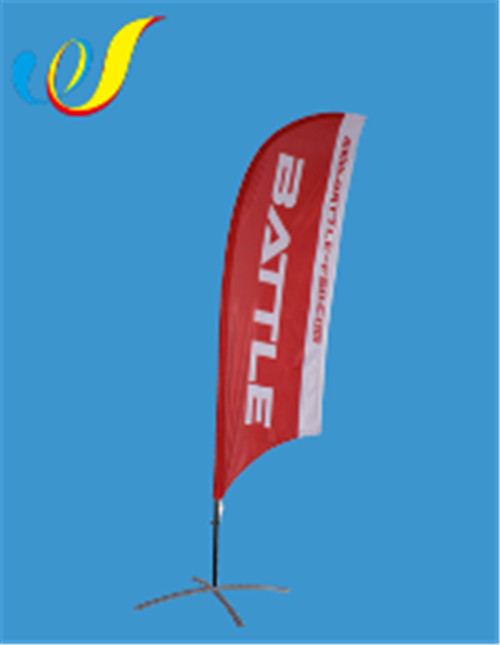 China high quality factory price Display Flag-Concave Feather Banners manufacture
