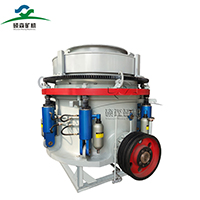 how does a hydraulic cone crusher work