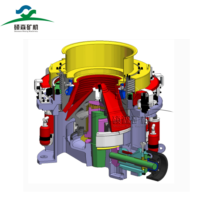 hydraulic cone crusher for mining