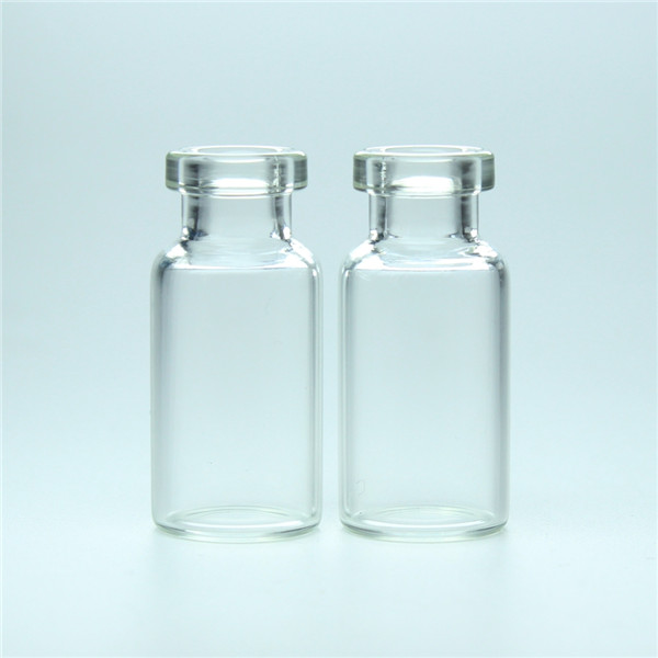 2ml transparent pharmaceutical injection borosilicate glass vial