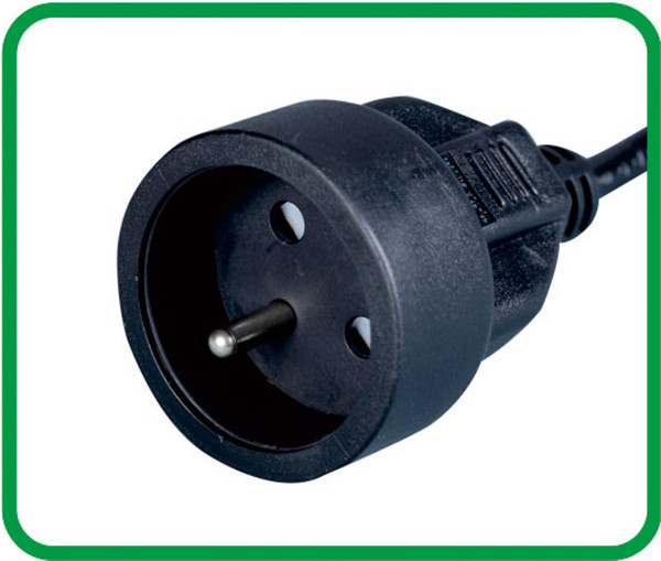 Schuko socket VDE 2 poles euro socket with earthing contact XR-325