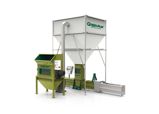 GREENMAX STYROFOAM COMPACTOR MODEL APOLO-C200