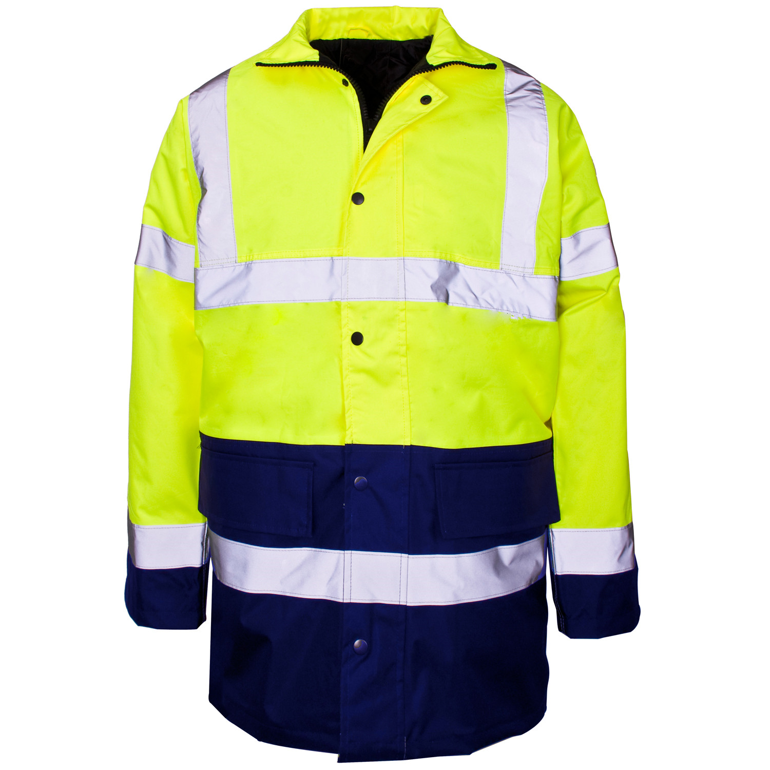 High Visibility Reflective Safety Jacket For Unisex Adults Uniform( HJ-2469 )