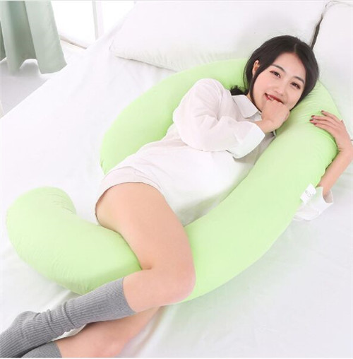 China 2019 hot sale comfortable cotton maternity pregnancy Latest maternity U-shaped Pillow