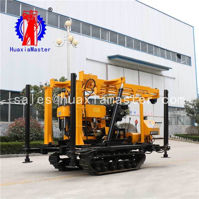 XYD-130 crawler hydraulic core drilling rig