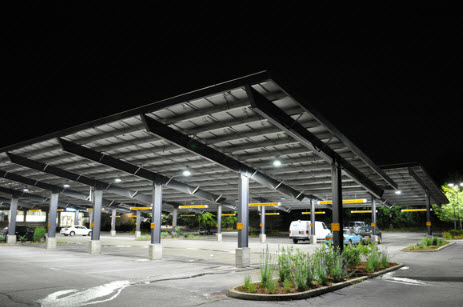 Solar ground mounting system for ongrid and off-grid solar carport/ car parking