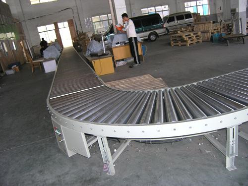 China high quality stainless steel high quality Turning drum conveyor manufacture