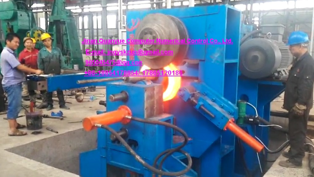 Vertical ring rolling machine - D51P  flat shaft type series