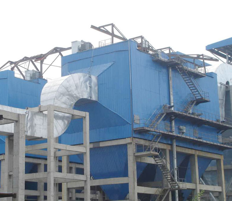 Electric bag composite dust collector