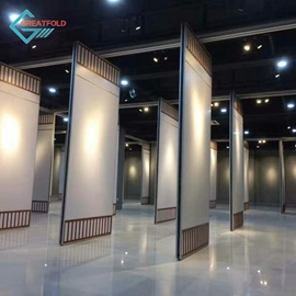 Free Design Wood folding partition wall for meeting rooms modern office